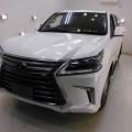 新車 LX570 セラミックコーティング、アルミSV、ガラスGP、革シートコーティング施工!