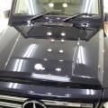 新車 Mベンツ G350 セラミックコーティング、革シートコーティング、アルミSV施工!