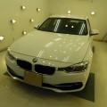BMW320d  匠滑水コーティング施工!