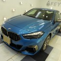 BMW2グランクーペ 匠滑水コーティング施工!